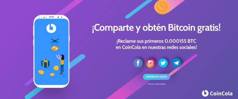 Coincola - Gratis BTC
