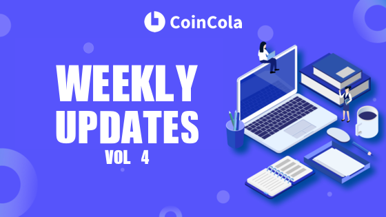 coincola weekly update 4