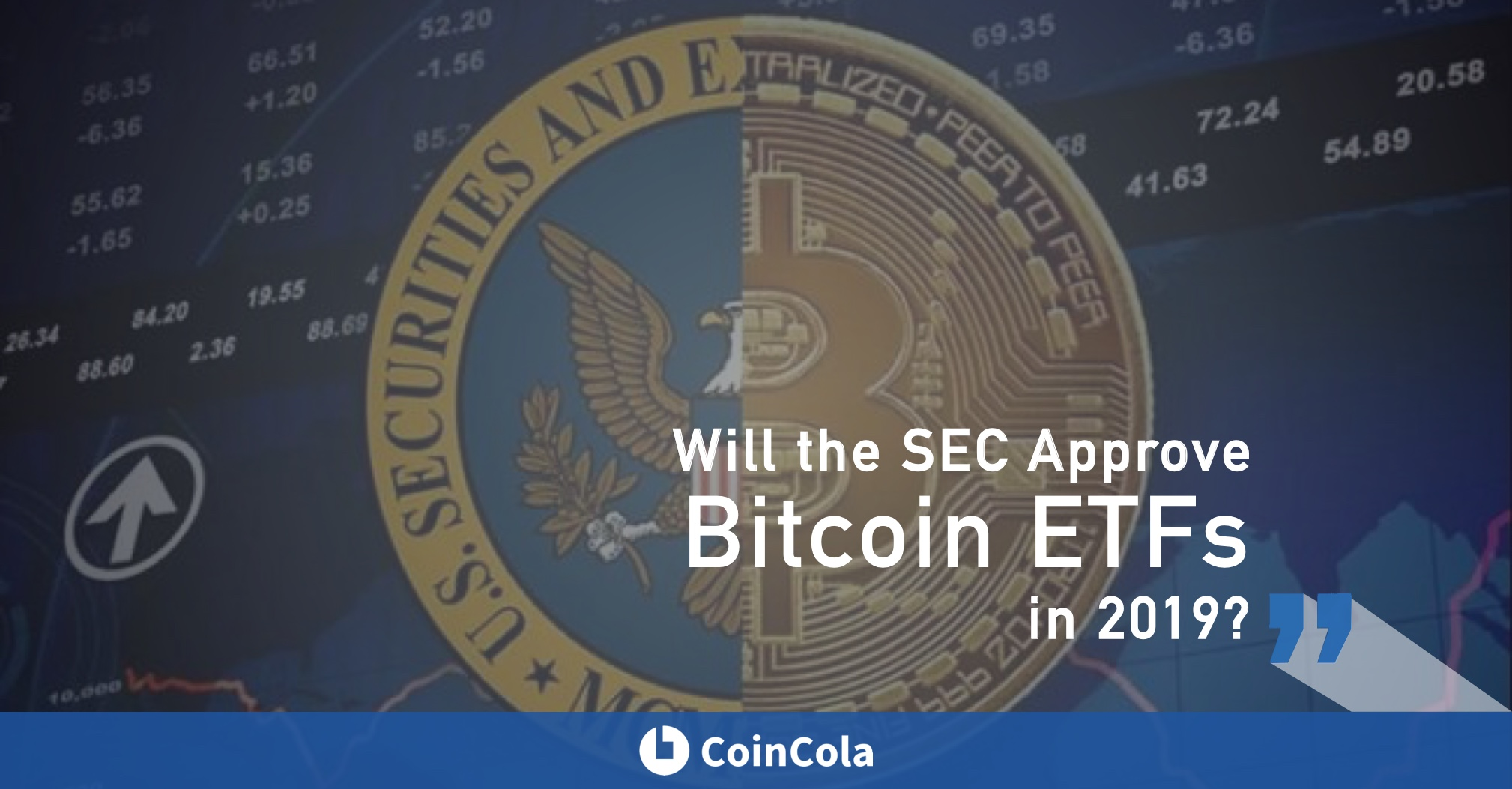 Will the sec approve Bitcoin ETFs in 2019