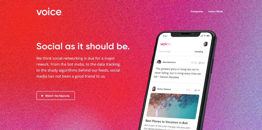 Voice Social Platform CoinCola BTC Trading