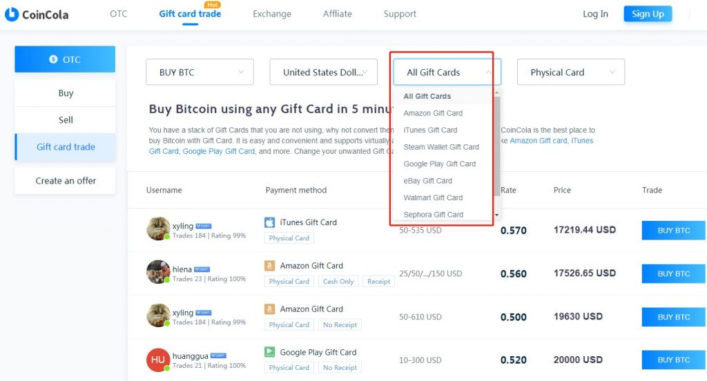 Sell Ebay Gift Card For Cash Or Bitcoin Coincola Blog