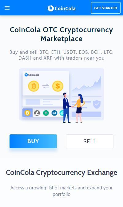 CoinCola OTC Bitcoin Trading