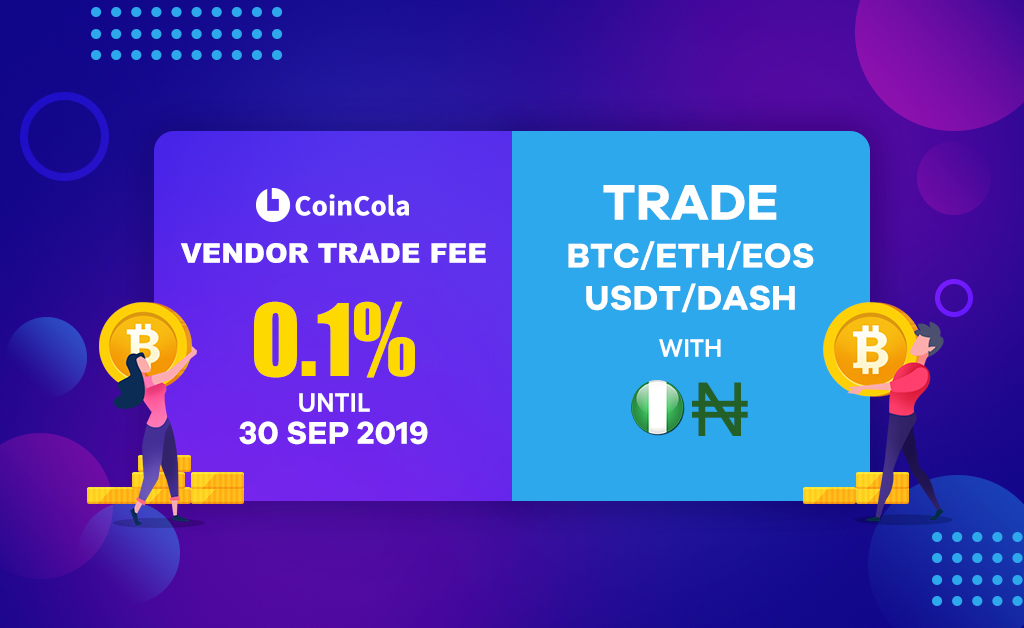 low fee bitcoin trading -coincola